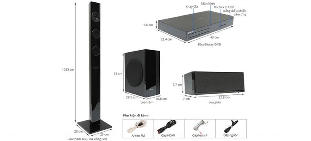 samsung ht j5150 sistem home cinema 5 1 cu blu ray. Black Bedroom Furniture Sets. Home Design Ideas