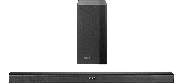 Samsung HW-K450/EN – Soundbar cu bluetooth si subwoofer wireless