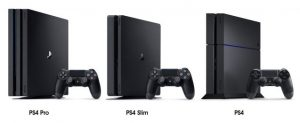 ps4 vs ps4 slim vs ps4 pro