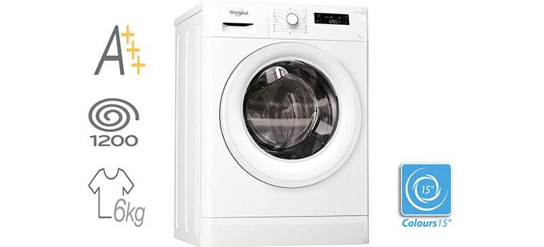 Whirlpool FWSF61253W EU FreshCare+