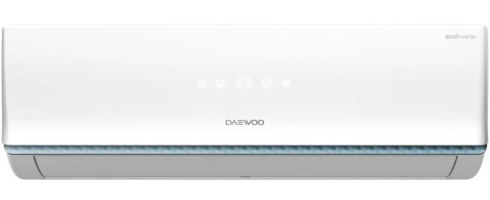 Daewoo DSB-H2401JLH-VK Cel mai bun aer conditionat Daewoo de 24000 BTU