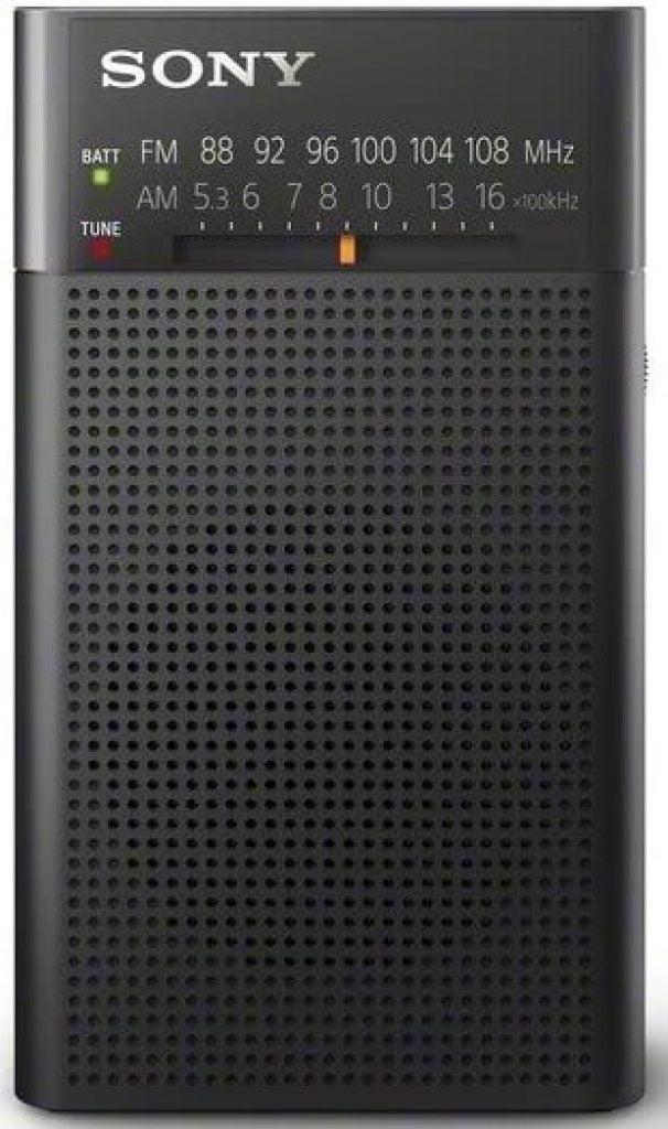 Cel mai bun radio portabil de buzunar  Sony ICF-P26