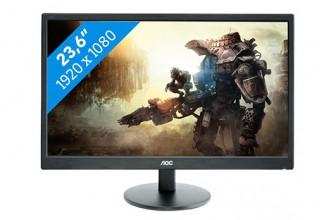 AOC E2470SWH – Monitor LED Full HD cu cel mai bun raport calitate / pret