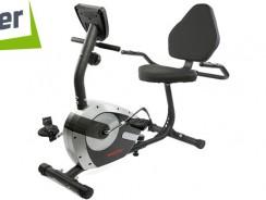 Bicicleta fitness orizontala Sporter, volanta 4.5 Kg