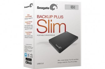 HDD extern Seagate Backup Plus Slim