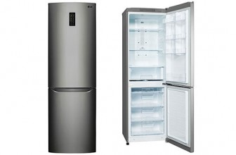 LG GBB329DSDZ – Combina frigorifica No Frost cu compresor Inverter si Wi-Fi