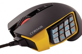 Mouse Corsair Scimitar RGB Review