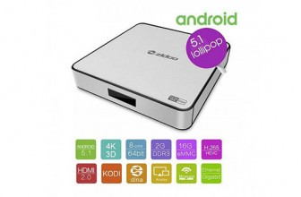 PNI Zidoo X6 Pro Mini PC cu Android 5.1