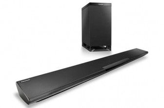 Panasonic SC-HTB385EGK – Soundbar 2.1, Wireless, Bluetooth