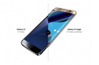 Samsung Galaxy S7 vs S7 Edge