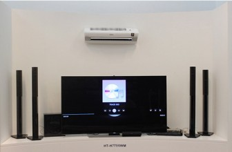 Sistem Home Cinema Samsung HT-H7750WM cu Blu-ray 7.1 si 3D