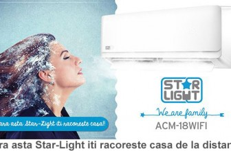 Star-Light ACM-18WIFI – Aer conditionat Inverter 18000BTU, kit instalare inclus