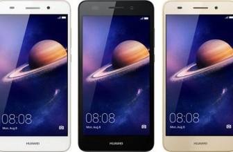 Telefon Huawei Y6II, pentru un selfie perfect